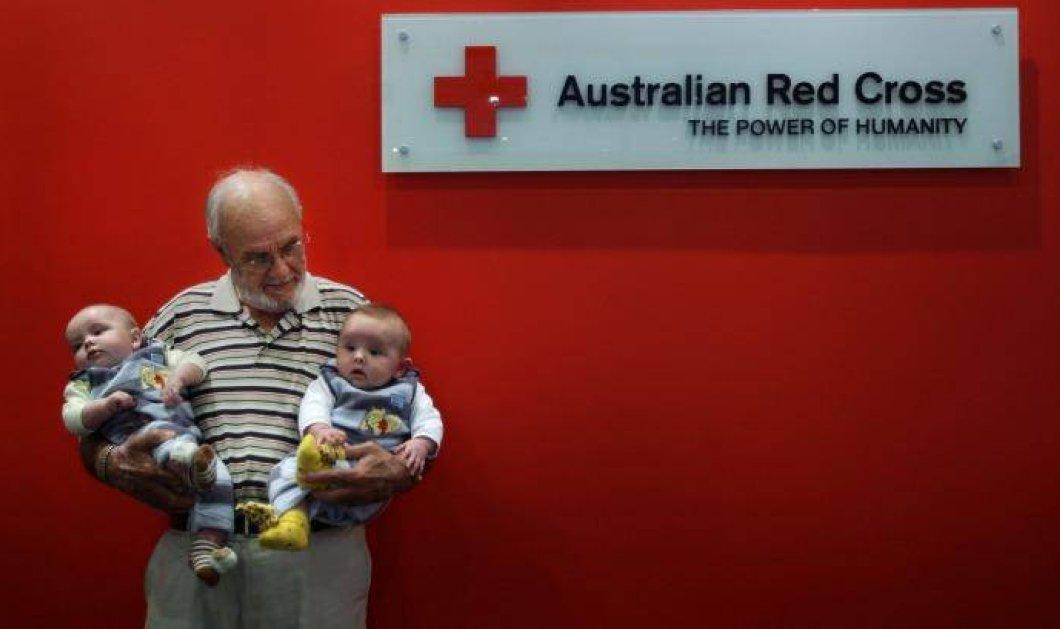Story of the day: Ο άνδρας με το ''χρυσό χέρι'' - Έχει σώσει 2 εκατομμύρια παιδιά - Κυρίως Φωτογραφία - Gallery - Video