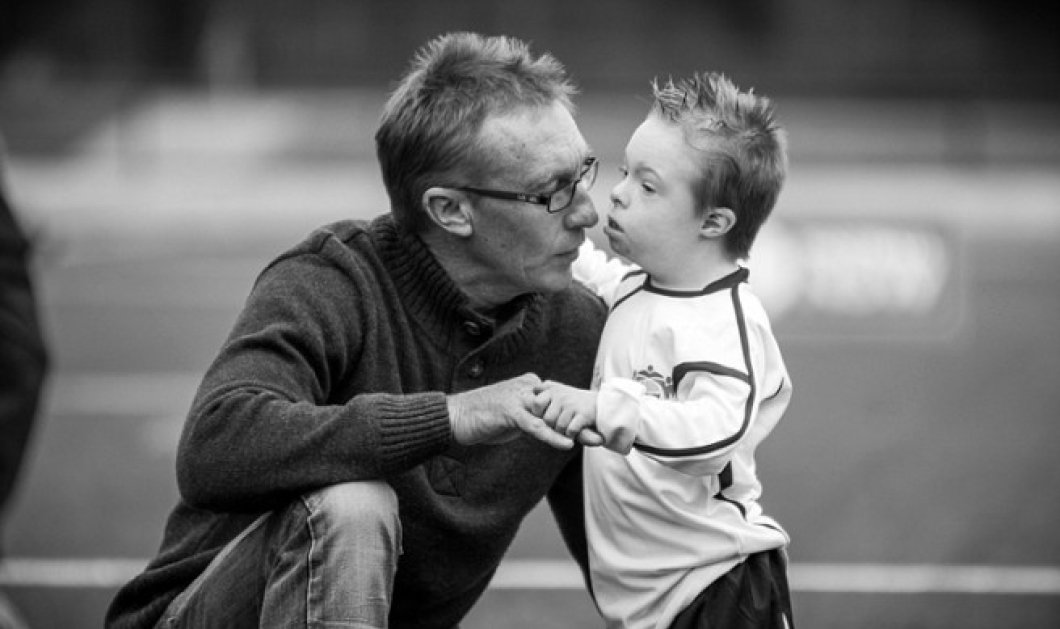 Story of the day: Ο καλύτερος πατέρας του  κόσμου - Πολύ συγκινητική &τρυφερή η σχέση με τον ιδιαίτερο γιό του - Κυρίως Φωτογραφία - Gallery - Video