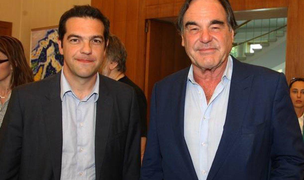 Viva Τσίπρας - Το μήνυμα συμπαράστασης του Oliver Stone στον Έλληνα πρωθυπουργό - Κυρίως Φωτογραφία - Gallery - Video