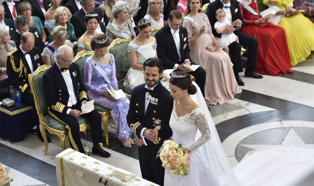 Όλες οι φωτό από τον παραμυθένιο γάμο του Πρίγκηπα Καρλ Φίλιπ & της Σοφία reality star & τέως σερβιτόρα  - Κυρίως Φωτογραφία - Gallery - Video