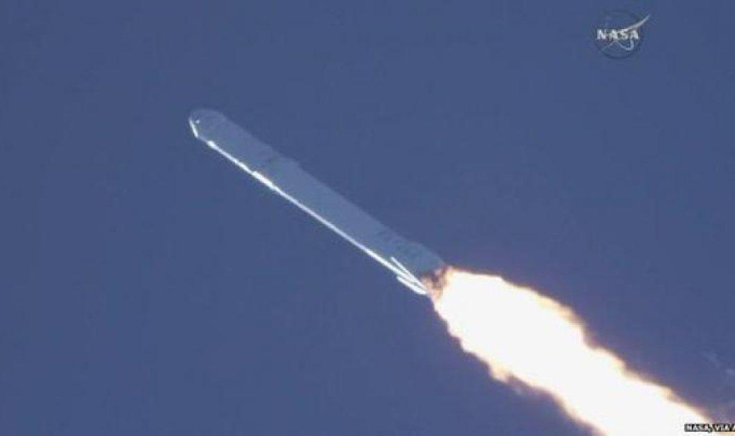 Απίθανο βίντεο: Εξερράγη πύραυλος της SpaceX στις ΗΠΑ κατά την εκτόξευσή του! - Κυρίως Φωτογραφία - Gallery - Video
