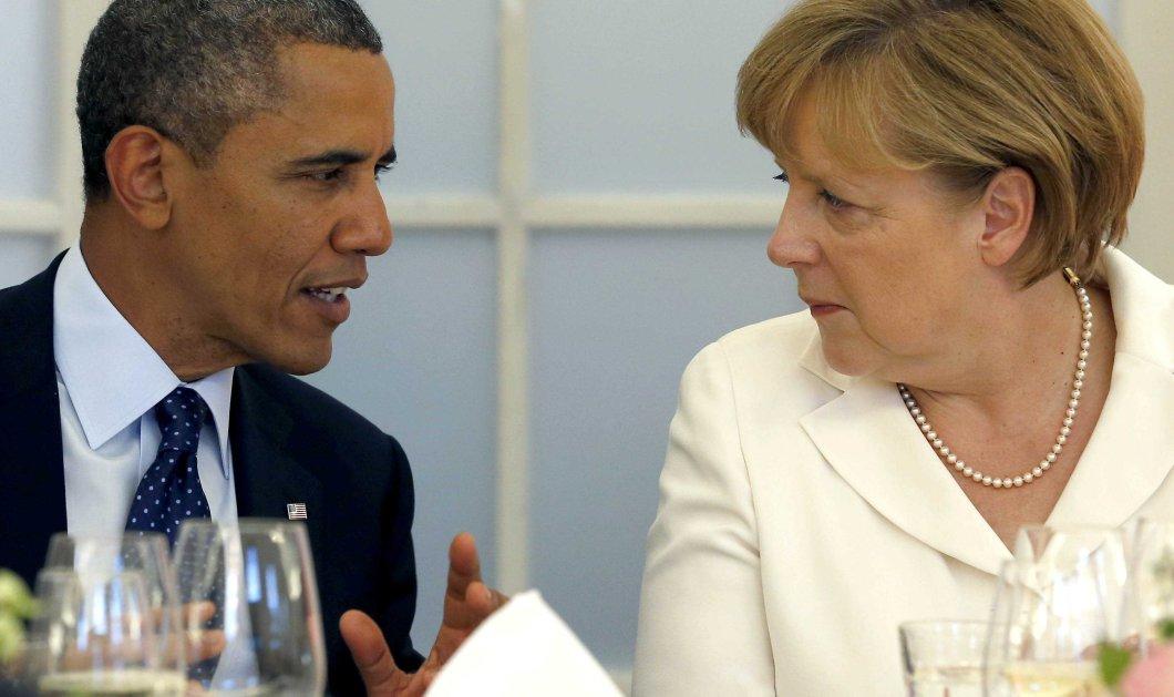 Σε στενή επαφή Ομπάμα - Μέρκελ για την Ελλάδα - Κυρίως Φωτογραφία - Gallery - Video