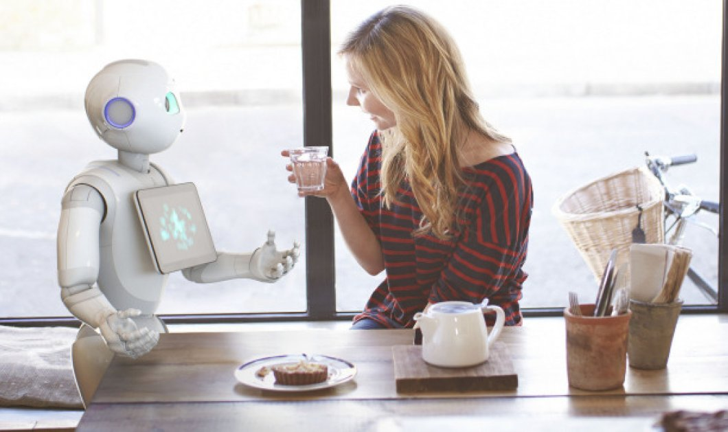 Pepper: το πρώτο ανθρώπινο ρομπότ με καρδιά & συναισθήματα- Πόνο, χαρά, οργή - Κυρίως Φωτογραφία - Gallery - Video
