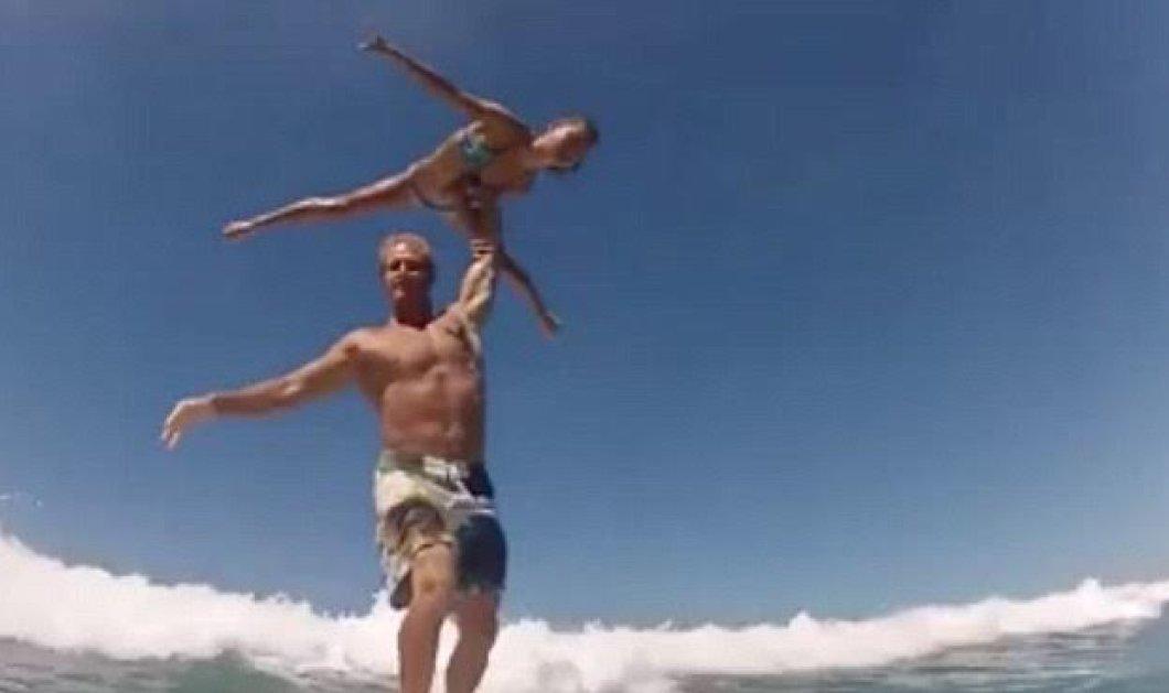 Το βίντεο της ημέρας: Δεν έχετε ξαναδεί τελειότερο σερφ ερωτευμένου ζεύγους - Μια ταυτόχρονη ακροβατική γυμναστική - Κυρίως Φωτογραφία - Gallery - Video
