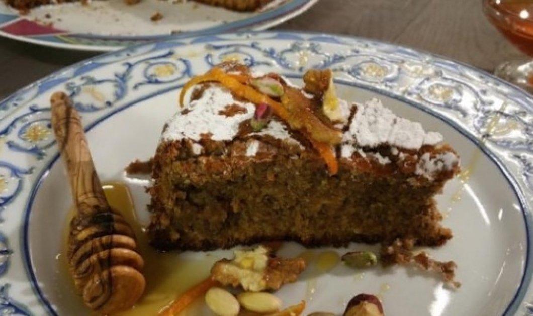Ο βασιλιάς  της Ζαχαροπλαστικής  Στέλιος: top κέικ με φουντούκια, καρύδια, φιστικί, αμύγδαλο!  - Κυρίως Φωτογραφία - Gallery - Video
