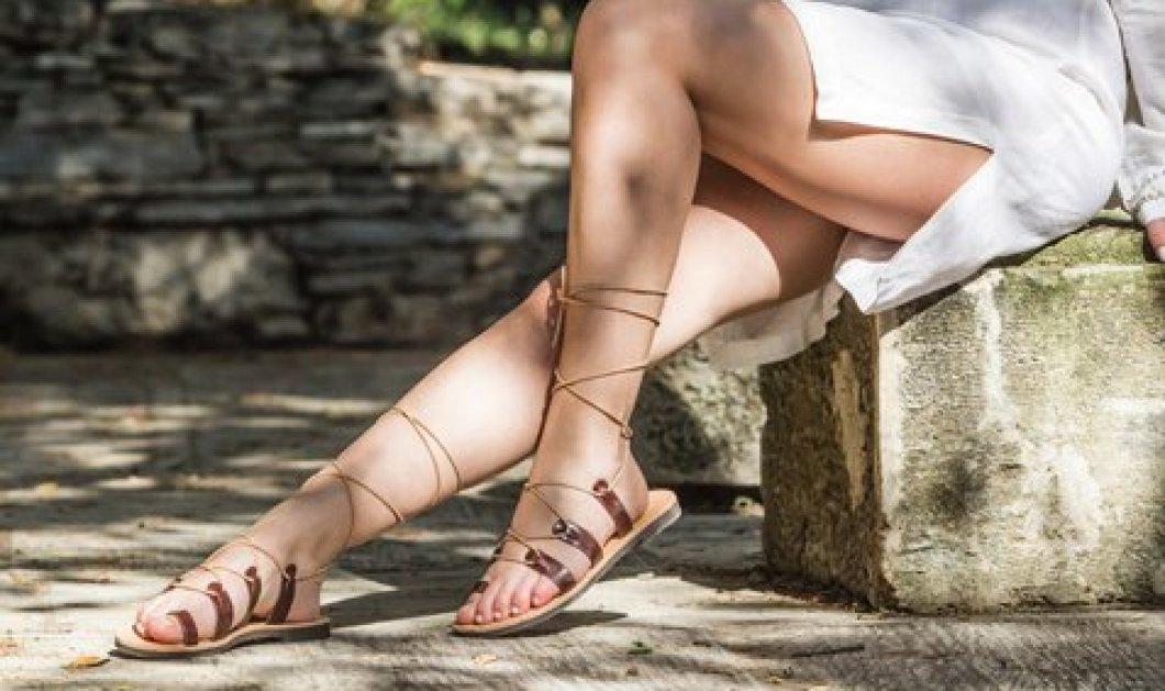Made in Greece το sandalaki.com: Υπέροχα, μοντέρνα  σανδάλια από μία Top woman την σχεδιάστρια Ηλιάνα Ζήση  - Κυρίως Φωτογραφία - Gallery - Video