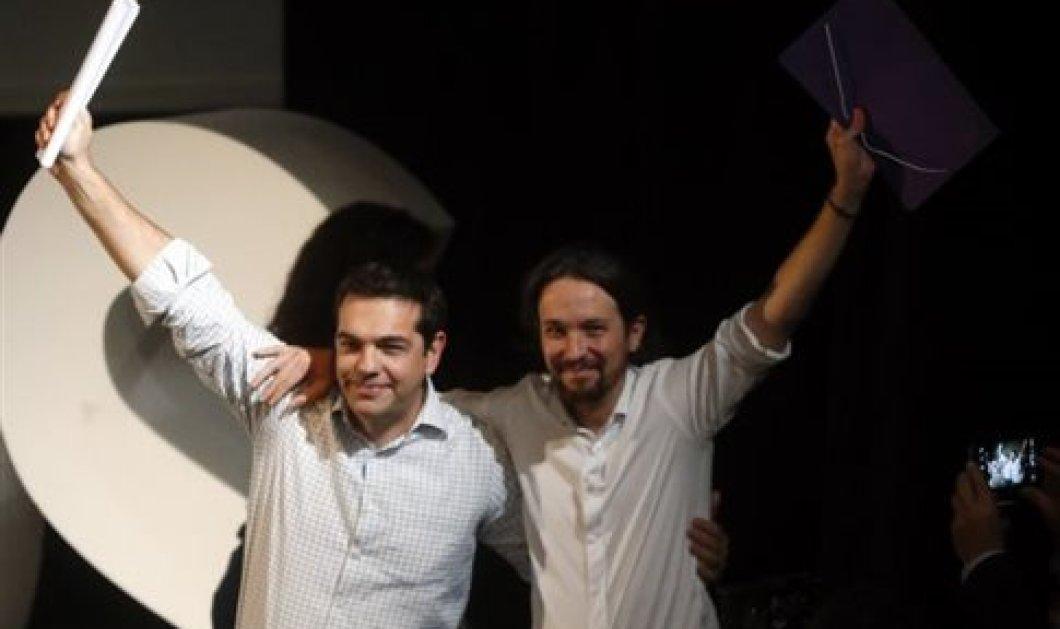 Ιγκλέσιας των Podemos Πολιτικό ορόσημο για την Ευρώπη το ελληνικό δημοψήφισμα  - Κυρίως Φωτογραφία - Gallery - Video