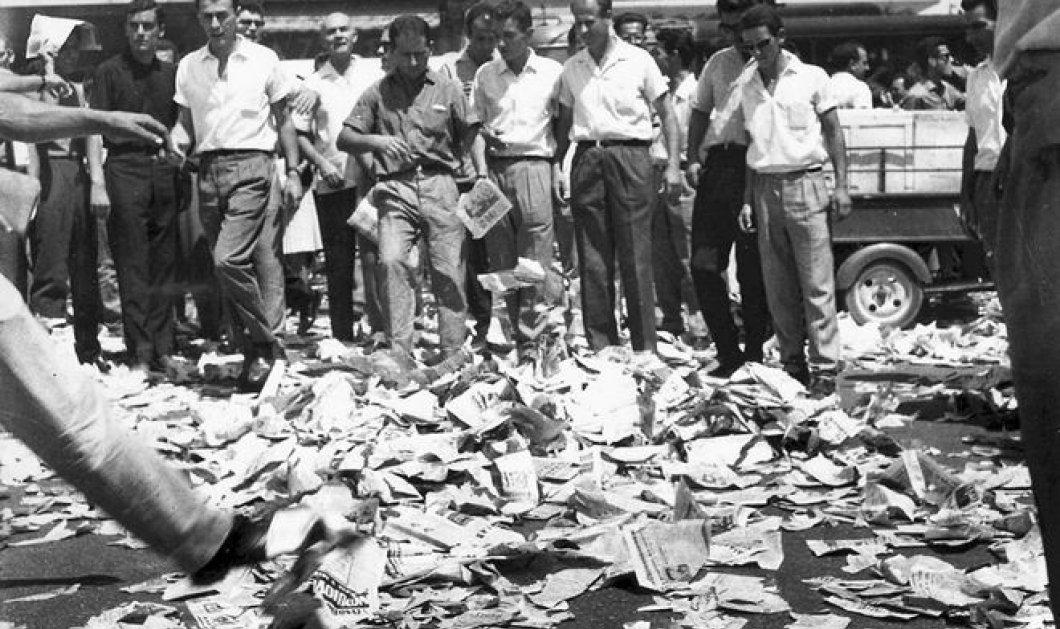 Vintage Story: 15 Ιουλίου 1965: Πενήντα χρόνια από την αποστασία  - Κυρίως Φωτογραφία - Gallery - Video