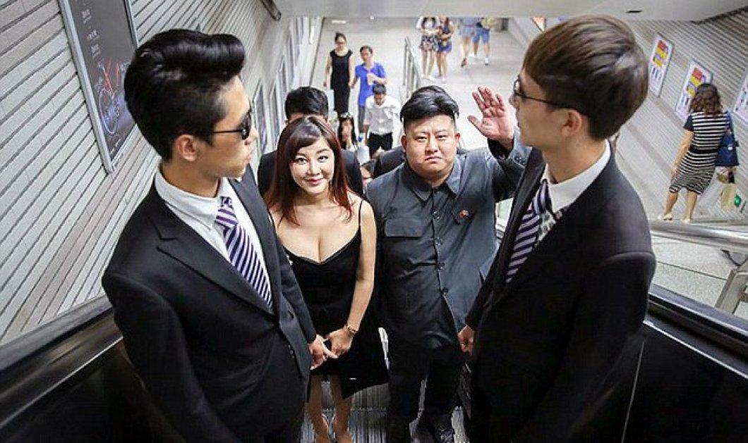 Κινέζος έκανε πλαστική για να μοιάζει με τον Κιμ Γιονγκ Ουν & βρήκε γυναίκα ίδια με του δικτάτορα  - Κυρίως Φωτογραφία - Gallery - Video