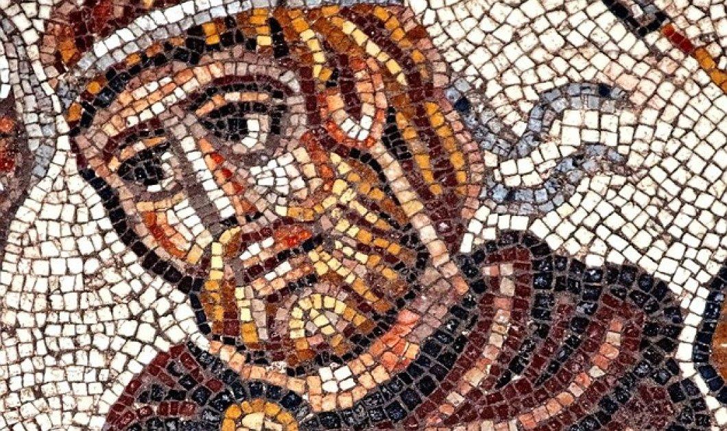 Δείτε το εξαιρετικά σπάνιο ψηφιδωτό με τον Μέγα Αλέξανδρο που ανακαλύφθηκε σε συναγωγή    - Κυρίως Φωτογραφία - Gallery - Video