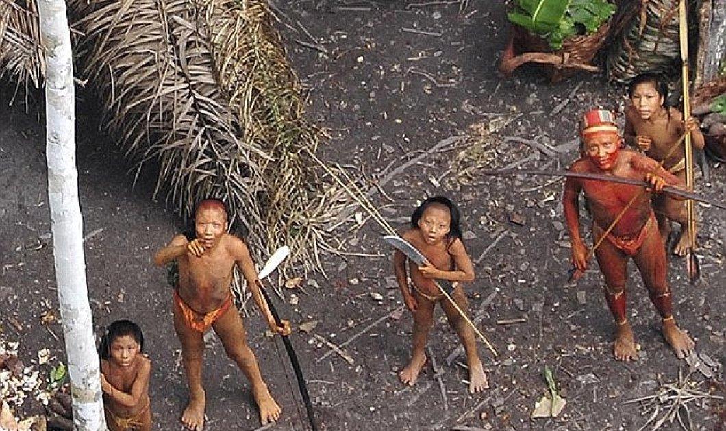 Απίστευτες φωτογραφίες για πρώτη φορά από την τελευταία φυλή στον Αμαζόνιο - Κυρίως Φωτογραφία - Gallery - Video
