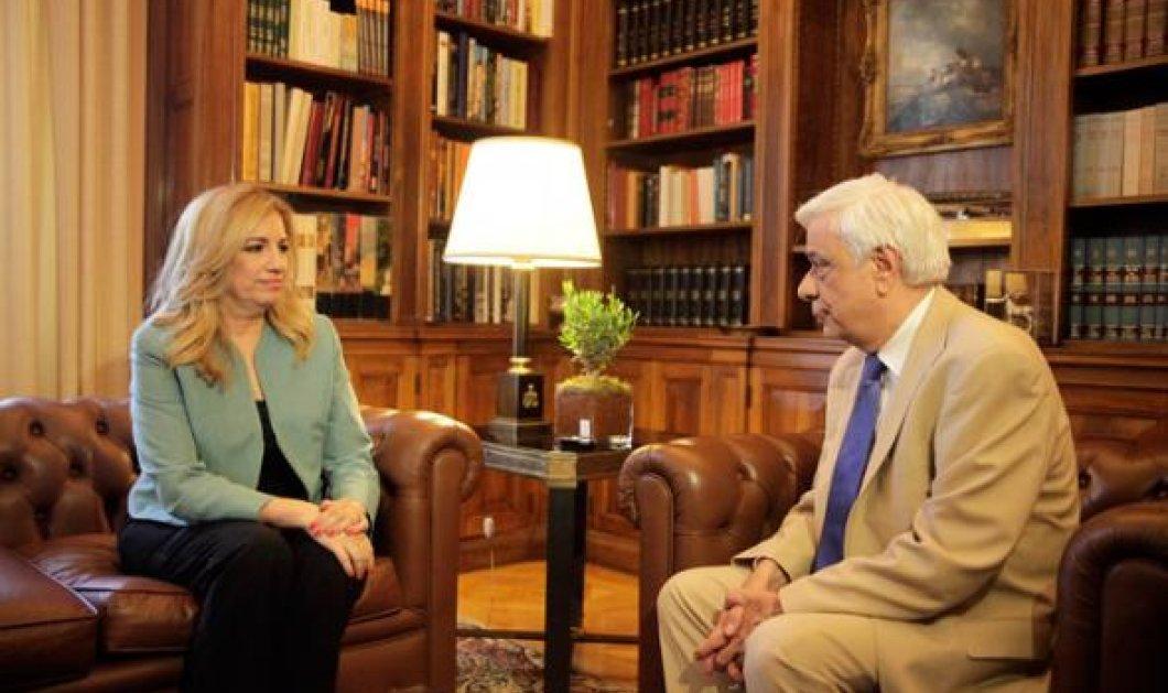 Γεννηματά: «Δεν έχουμε δώσει λευκή επιταγή στο κ. Τσίπρα» - Κυρίως Φωτογραφία - Gallery - Video