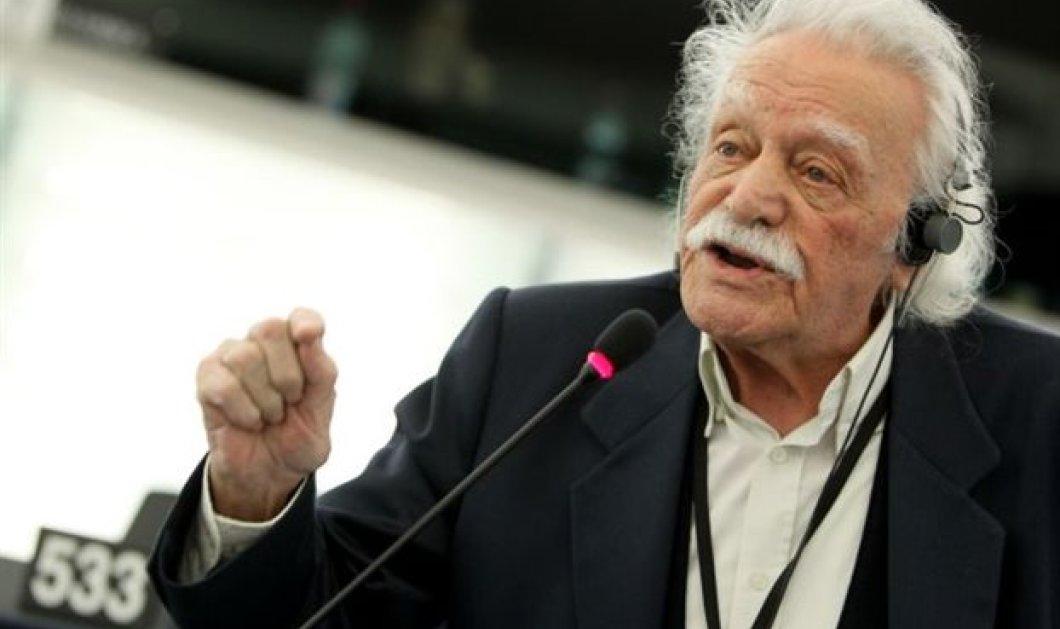 Απορρίφθηκε αίτημα του Μ. Γλέζου να συζητηθούν οι γερμανικές οφειλές στο Ευρωκοινοβούλιο - Κυρίως Φωτογραφία - Gallery - Video