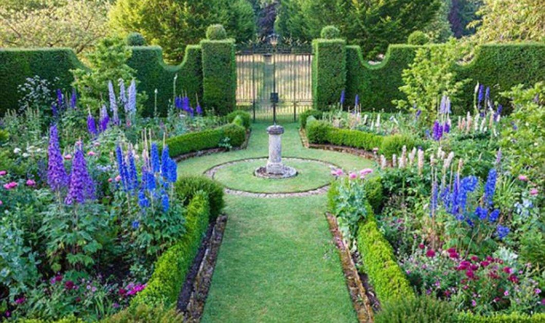 Prince Charles: Αυτοί είναι οι βασιλικοί κήποι του πύργου του! Αντάξιοι του διαδόχου  - Κυρίως Φωτογραφία - Gallery - Video