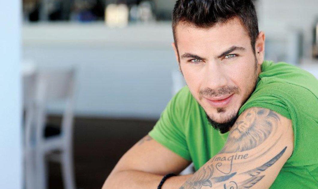 4000 likes o Άκης μας (Πετρετζίκης) που λιάζεται με τα διάσημα tatoo του σε κοινή θέα  - Κυρίως Φωτογραφία - Gallery - Video