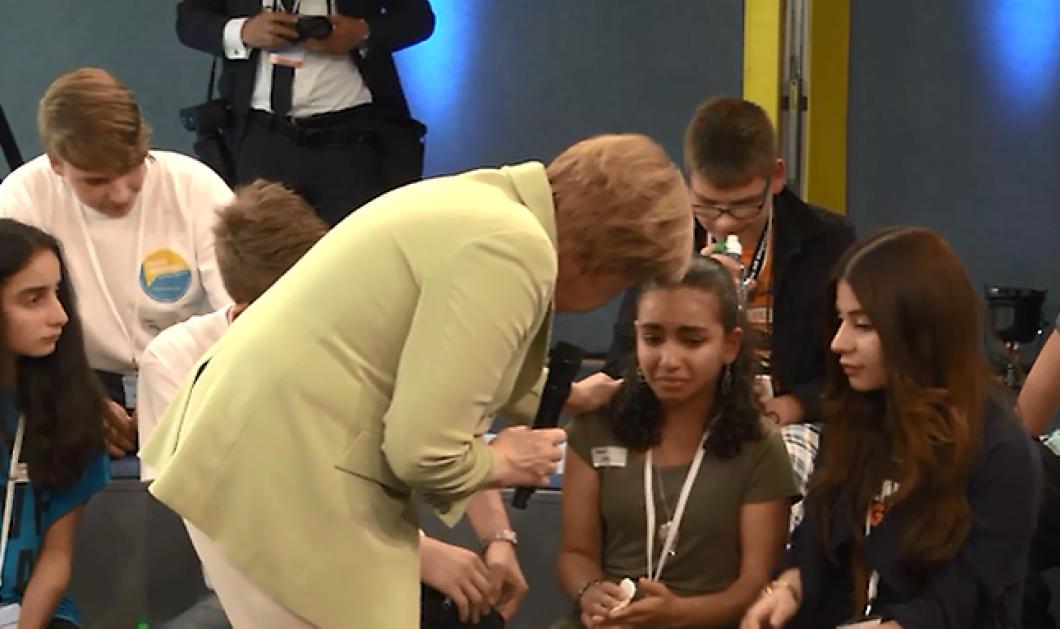 Κυρία Μέρκελ αποτύχατε σαν άνθρωπος: Βίντεο με Μικρή Παλαιστίνια που την έκανε να κλαίει    - Κυρίως Φωτογραφία - Gallery - Video