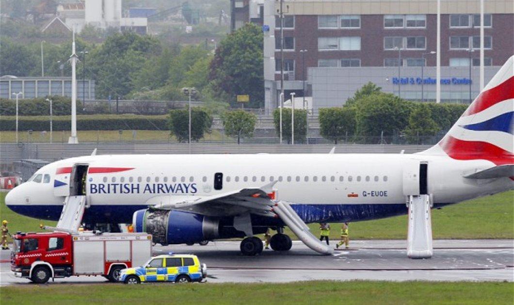 Λίγο έλειψε να έχουμε αεροπορική τραγωδία: Προσγείωσε το αεροπλάνο τυλιγμένο στις φλόγες   - Κυρίως Φωτογραφία - Gallery - Video