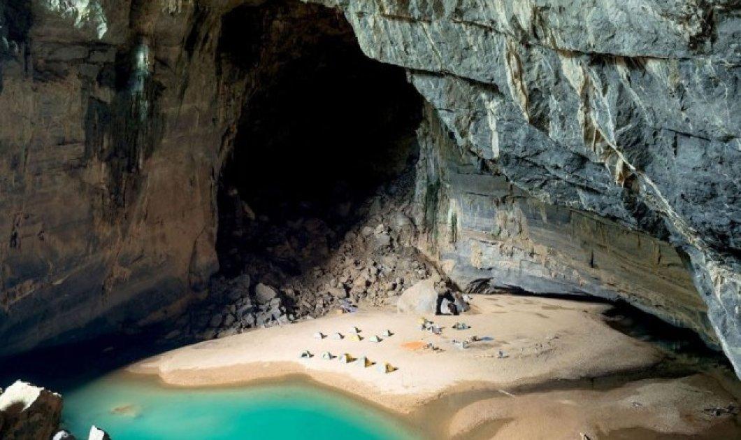 Παραμυθένια σπηλιά κρύβει στα σπλάχνα της μια παραλία για ερωτευμένους - Κυρίως Φωτογραφία - Gallery - Video