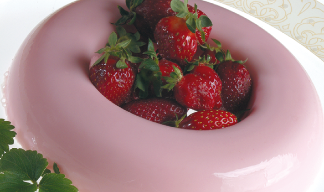 Το top δροσιστικό & light γλυκό: Κρέμα γιαουρτιού με ζελέ τσάι & φράουλες - Κυρίως Φωτογραφία - Gallery - Video