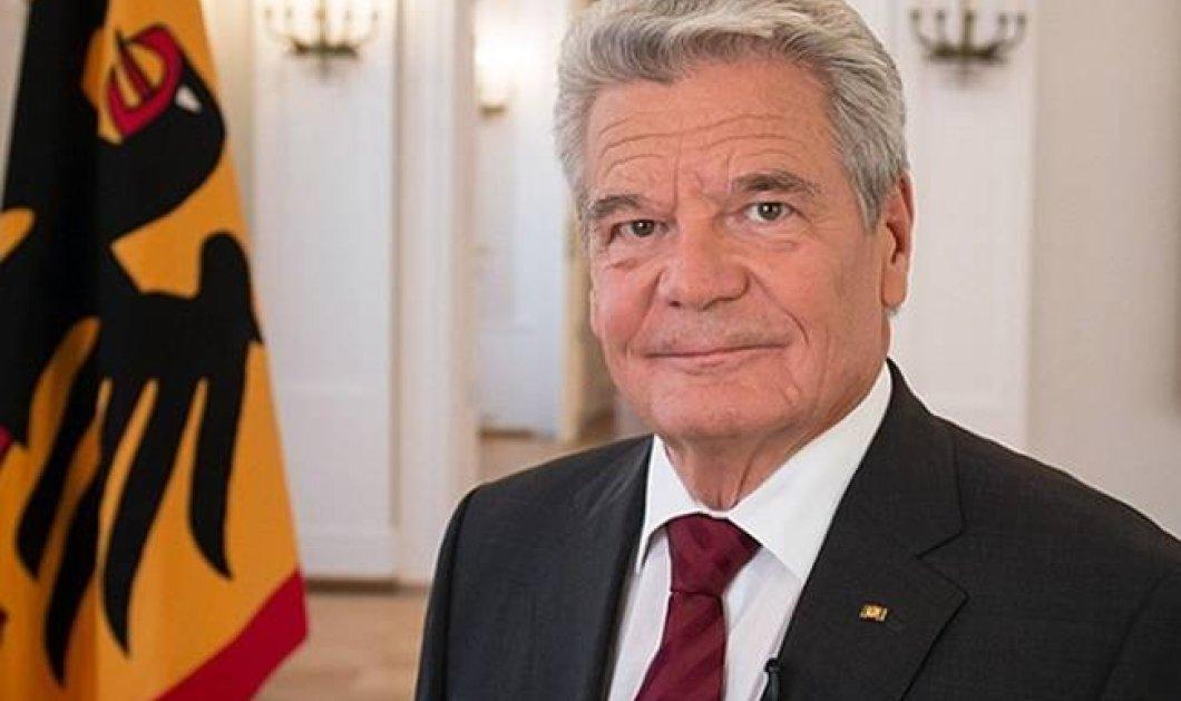 Αρνούμαι να φανταστώ Ευρωζώνη χωρίς Ελλάδα, λέει ο πρόεδρος της Γερμανίας  - Κυρίως Φωτογραφία - Gallery - Video