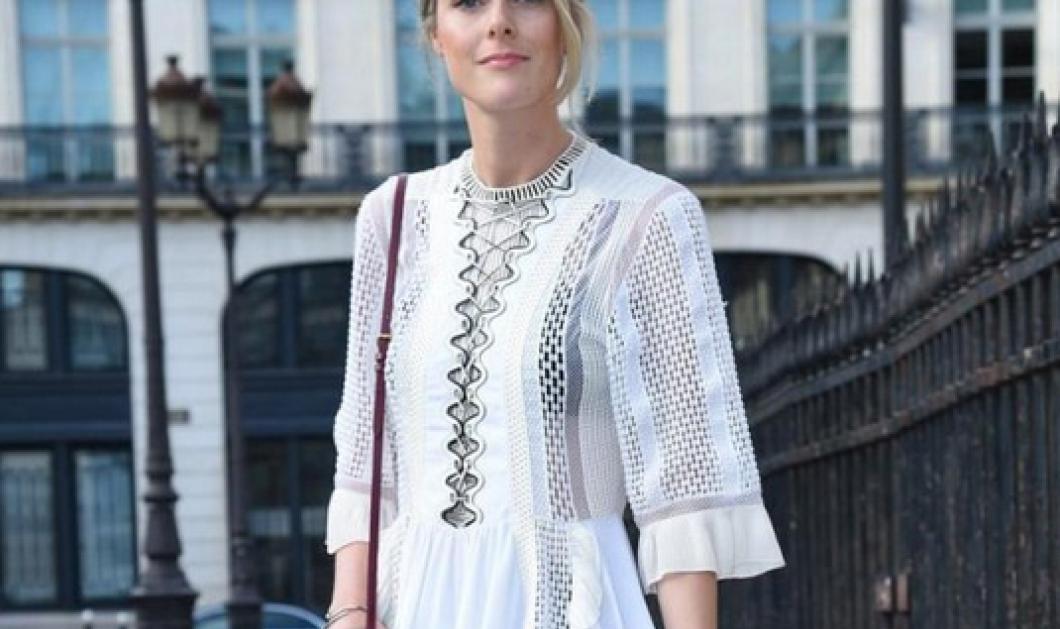 Τι φοράνε οι Παριζιάνες για να πάνε στα ντεφιλέ της εβδομάδας μόδας;    - Κυρίως Φωτογραφία - Gallery - Video