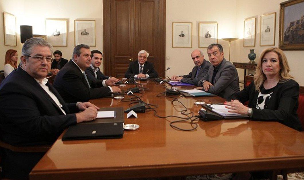 Μεϊμαράκης : ''Να έρθει στη Βουλή ο Τσίπρας να μας πει γιατί γελάει'' - Ακυρώνεται η νέα συνάντηση πολιτικών Αρχηγών; - Κυρίως Φωτογραφία - Gallery - Video