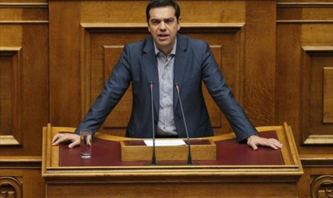 Όλη η ομιλία του Αλέξη Τσίπρα στη Βουλή: Παίρνουμε δύσκολες αποφάσεις - Θα μείνουμε στην Ευρώπη  - Κυρίως Φωτογραφία - Gallery - Video