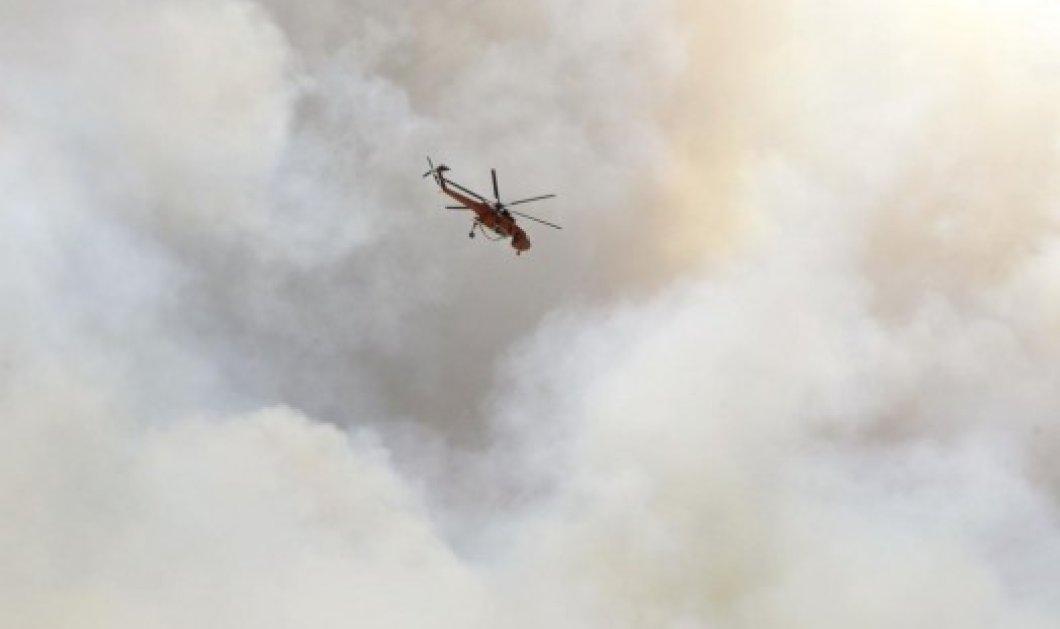 Καίγονται σπίτια και επιχειρήσεις στο κέντρο της Νεάπολης-Φωτιά 15 χιλιομέτρων - Κυρίως Φωτογραφία - Gallery - Video
