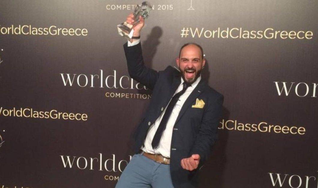 Ο Μανώλης Λυκιαρδόπουλος World Class Bartender of the Year 2015! Φώτο - Όλη η μαγευτική τελετή   - Κυρίως Φωτογραφία - Gallery - Video