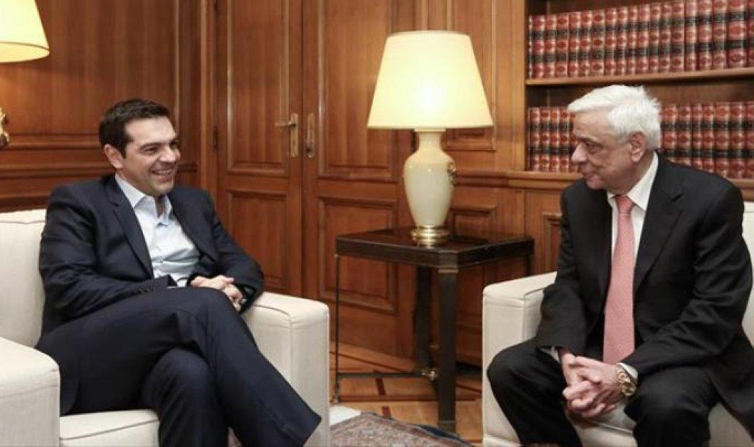 Α. Τσίπρας - Π. Παυλόπουλος σε κοινή γραμμή ως την Κυριακή  - Κυρίως Φωτογραφία - Gallery - Video