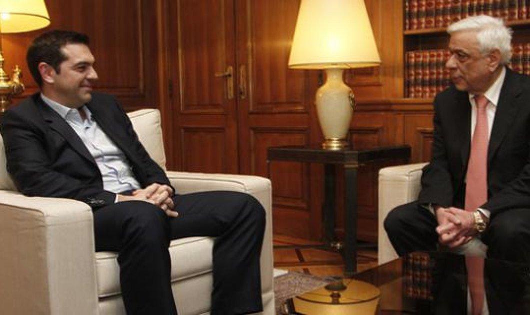 Πρόεδρος της Δημοκρατίας προς Τσίπρα: Δεν θα διανοηθούμε την Ελλάδα εκτός Ευρώπης και Ευρωζώνης  - Κυρίως Φωτογραφία - Gallery - Video