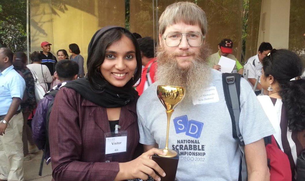 Ο παγκόσμιος πρωταθλητής στο γαλλόφωνο Scrabble… δεν μιλάει Γαλλικά! Έμαθε τα πάντα απέξω! - Κυρίως Φωτογραφία - Gallery - Video
