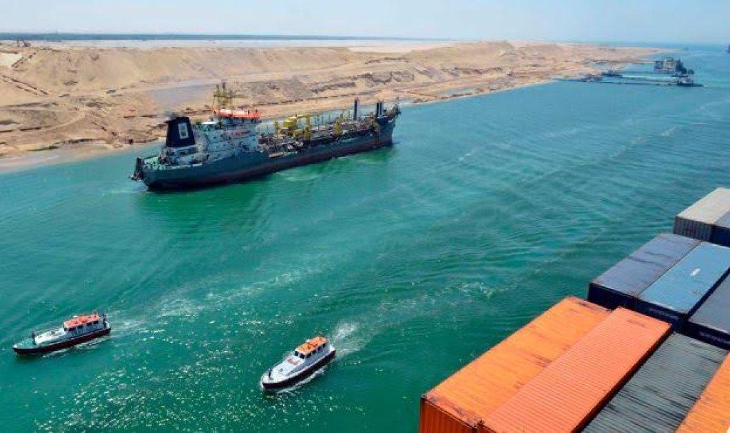 Η νέα διώρυγα του Σουέζ - Κατασκευαστικό επίτευγμα - Φτιάχτηκε σε έναν χρόνο μόνο με 210χ. τόνους άμμο & κόστισε 8,5 δις δολάρια   - Κυρίως Φωτογραφία - Gallery - Video