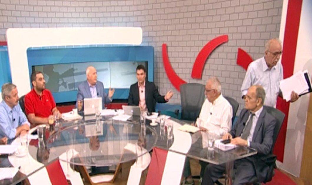 Όλα στην εκπομπή του Παπαδάκη: Ο Ρωμανιάς παραιτήθηκε, ο Λεουτσάκος μίλησε για επιστροφή στην δραχμή & ο Βίτσας αποχώρησε  - Κυρίως Φωτογραφία - Gallery - Video