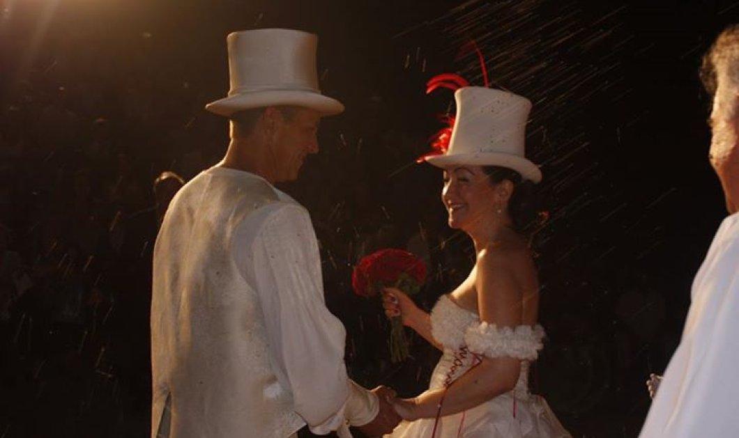 Χαλκίδα: Παντρεύτηκαν στην σκηνή, κατά την διάρκεια θεατρικής παράστασης& ενώπιον 400 θεατών - Κυρίως Φωτογραφία - Gallery - Video
