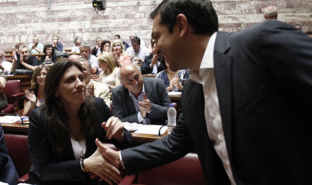 Μαξίμου: Η συνάντηση Τσίπρα - Κωνσταντοπούλου έγινε σε κλίμα συντροφικότητας & συλλογικότητας   - Κυρίως Φωτογραφία - Gallery - Video