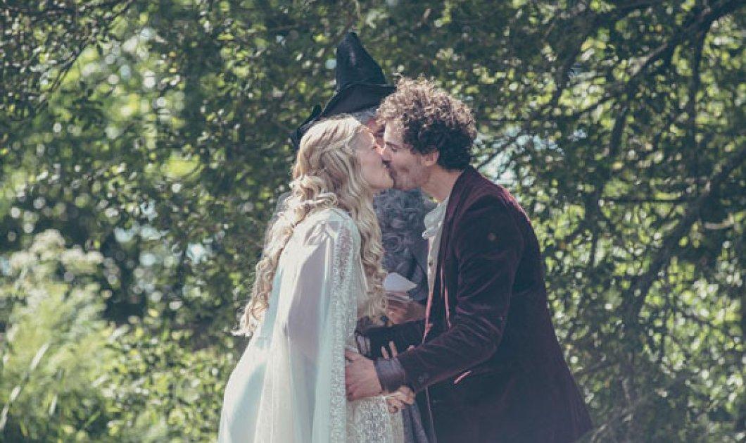 Ένα γάμος βγαλμένος από τον Άρχοντα των Δαχτυλιδιών - Προετοιμασία 6 μηνών για να κάνουν το όνειρο τους πραγματικότητα   - Κυρίως Φωτογραφία - Gallery - Video