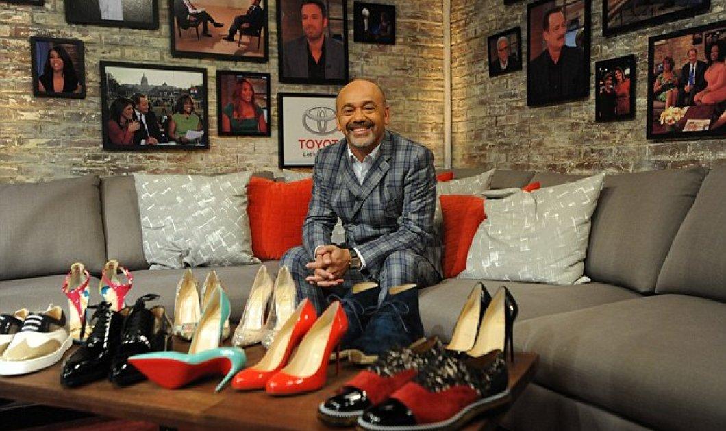 Ποια νομίζετε ότι ήταν η έμπνευση για το πρώτο ζευγάρι παπουτσιών του Christian Louboutin το 1992;     - Κυρίως Φωτογραφία - Gallery - Video