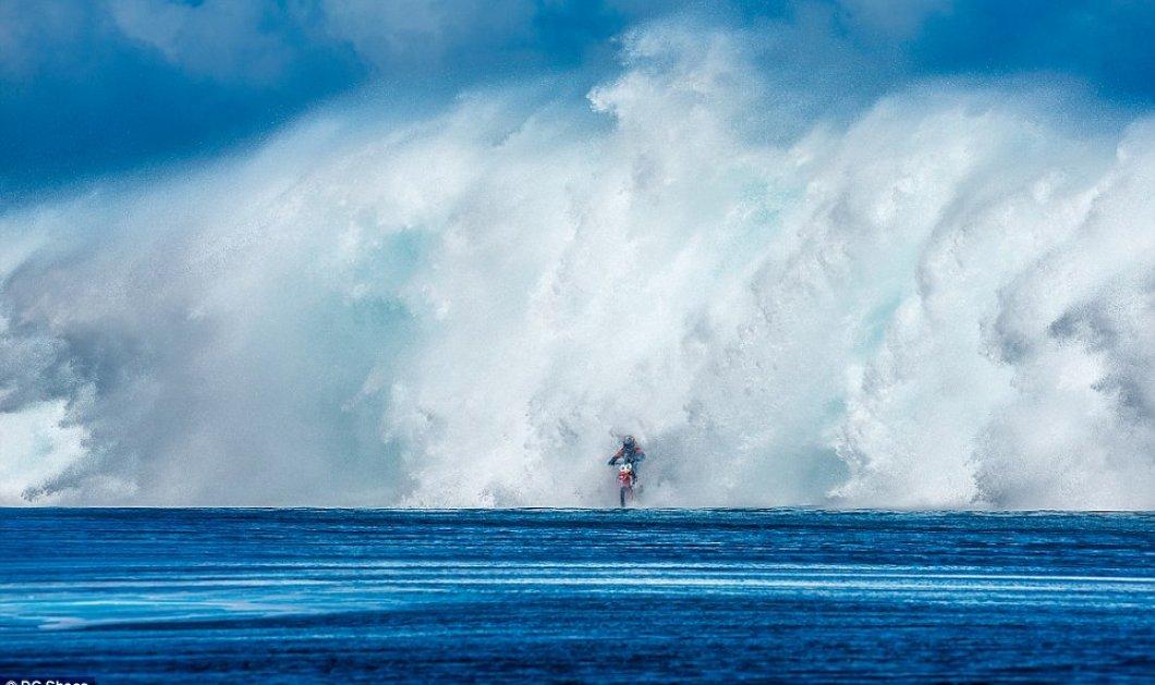 Bίντεο: Robbie Maddison: Ο πρώτος άνθρωπος που κάνει σέρφινγκ με την μηχανή του & μαρσάρει στα κύματα!   - Κυρίως Φωτογραφία - Gallery - Video