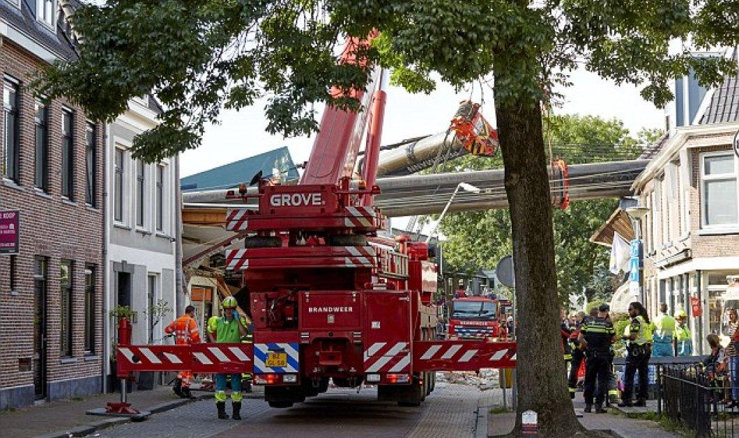 Βίντεο: Απίστευτη τραγωδία στην Ολλανδία: 20 άνθρωποι τραυματίστηκαν όταν ανυψωτικοί γερανοί έπεσαν πάνω τους  - Κυρίως Φωτογραφία - Gallery - Video