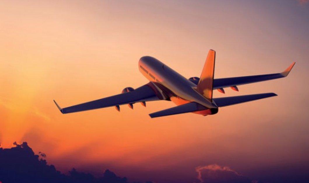 Σουηδία: Πιλότος έβγαλε μεθυσμένο επιβάτη από την τουαλέτα του αεροπλάνου με τσεκούρι  - Κυρίως Φωτογραφία - Gallery - Video