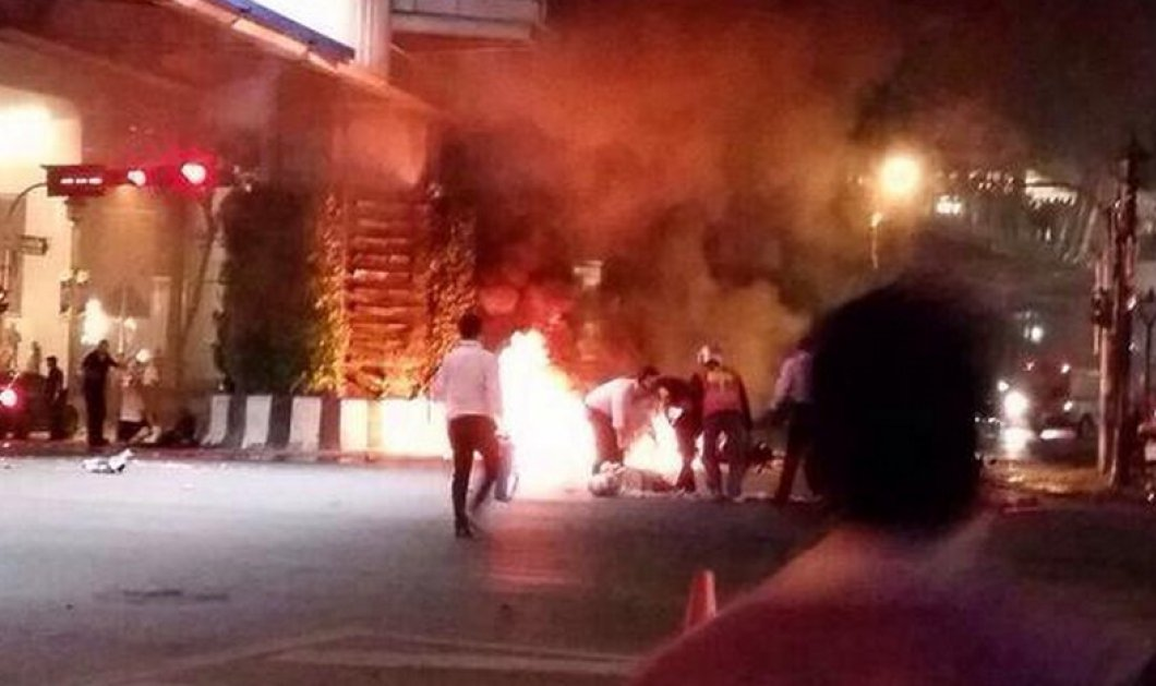 Ταϊλάνδη: Έκρηξη σε εμπορικό κέντρο της Μπανγκόκ - Τουλάχιστον 12 νεκροί & δεκάδες τραυματίες   - Κυρίως Φωτογραφία - Gallery - Video