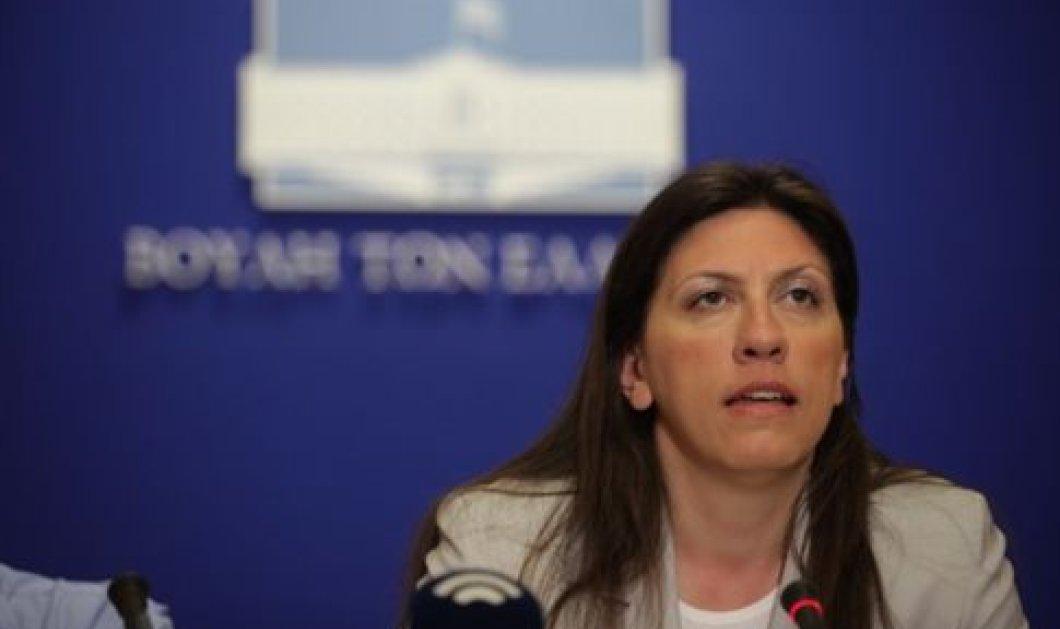 """Ζωή: """"Δεν θέλω να πιστέψω ότι ο πρωθυπουργός ζήτησε από τον κ. Θεοδωράκη να στηρίξει την υποψηφιότητά μου"""" - Κυρίως Φωτογραφία - Gallery - Video"""