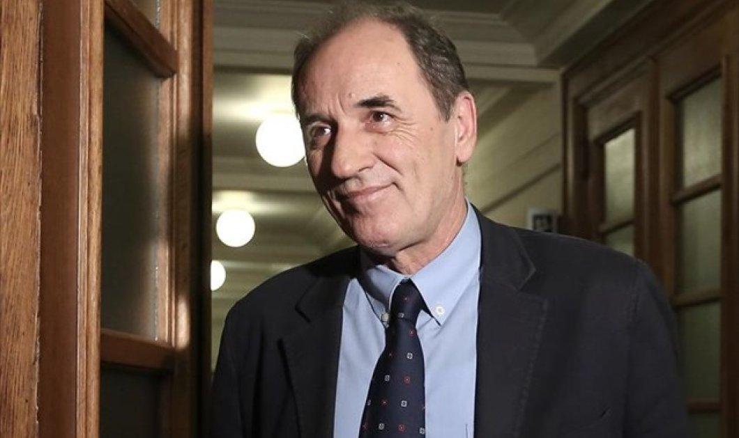 Σταθάκης: Σύντομα θα αρθούν οι τραπεζικοί περιορισμοί - «Συνεχίζονται οι διαπραγματεύσεις με τους θεσμούς για τα κόκκινα δάνεια»    - Κυρίως Φωτογραφία - Gallery - Video