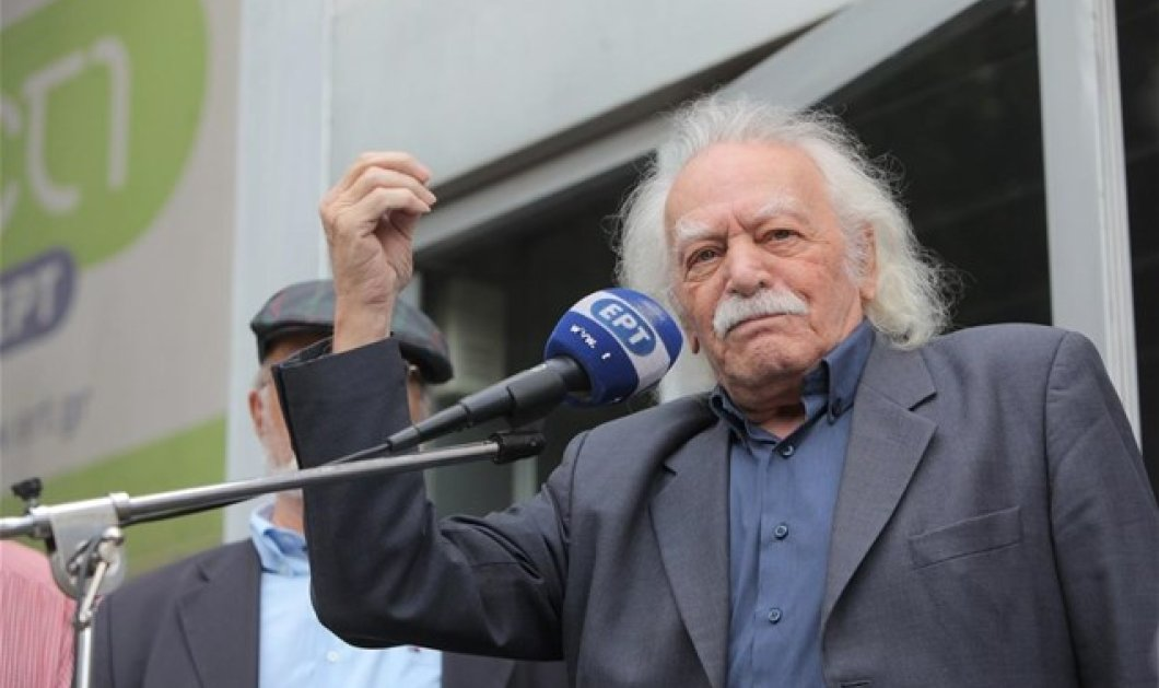 Μ. Γλέζος: Το μεγαλύτερο λάθος του Τσίπρα είναι το Μνημόνιο - Καλώ την ηγεσία του ΣΥΡΙΖΑ να συνέλθει  - Κυρίως Φωτογραφία - Gallery - Video