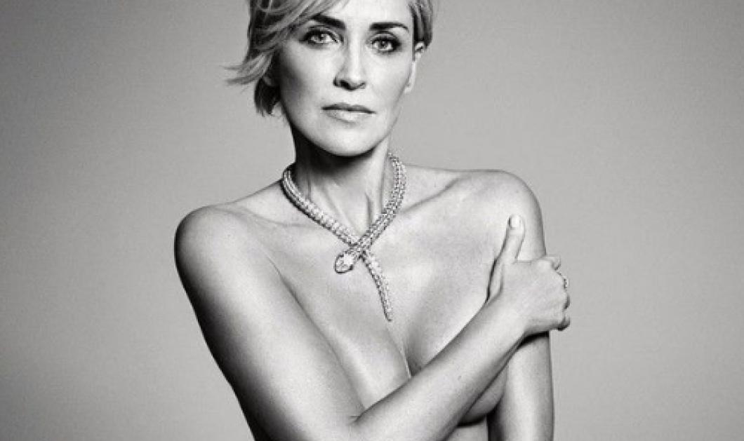 H Σάρον Στόουν αγέραστη:  Ποζάρει γυμνή στα 57 της!  - Κυρίως Φωτογραφία - Gallery - Video