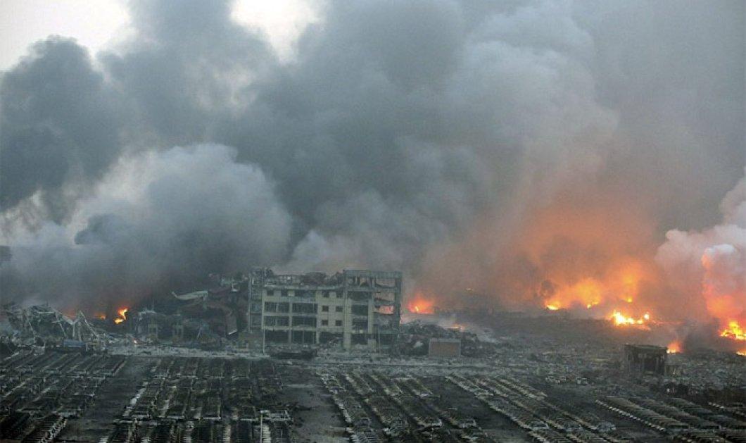 Εικόνες βιβλικής καταστροφής στην Κίνα: 44 νεκροί & 520 τραυματίες από πυρκαγιά σε αποθήκη - Κυρίως Φωτογραφία - Gallery - Video