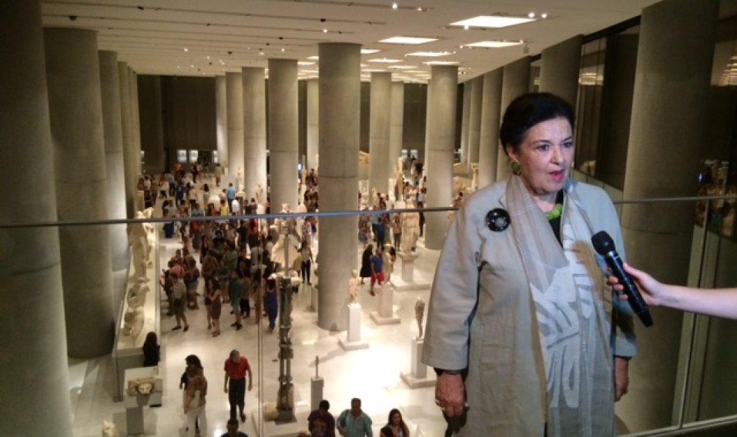 Αποκλειστικό: Τι είπε στο Εirinika χθες με πανσέληνο η ΥΠΠΟ Μαρίνα Λαμπράκη - Πλάκα μέσα στο Μουσείο της Ακρόπολης (Φωτό - Βίντεο) - Κυρίως Φωτογραφία - Gallery - Video