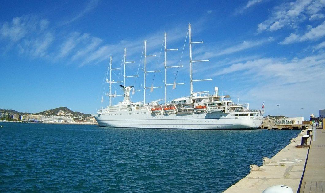 Βίντεο: Το Club Med 2 έφθασε σήμερα το πρωί στον Πειραιά - Δείτε την άφιξη του!  - Κυρίως Φωτογραφία - Gallery - Video