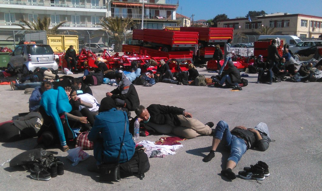 Μυτιλήνη: Αιματηρές συμπλοκές μεταξύ μεταναστών (Βίντεο) - Κυρίως Φωτογραφία - Gallery - Video